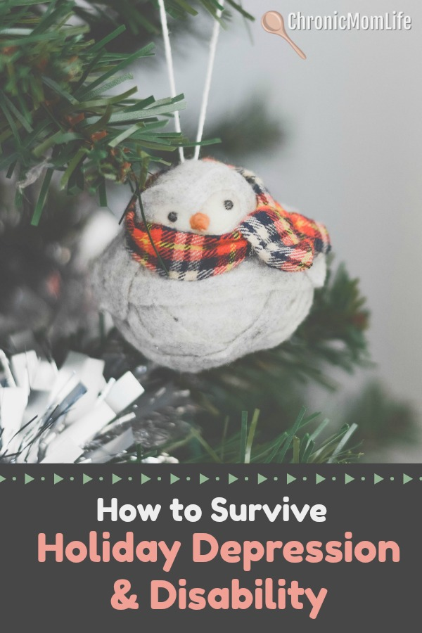 how to survive holiday depression and disability