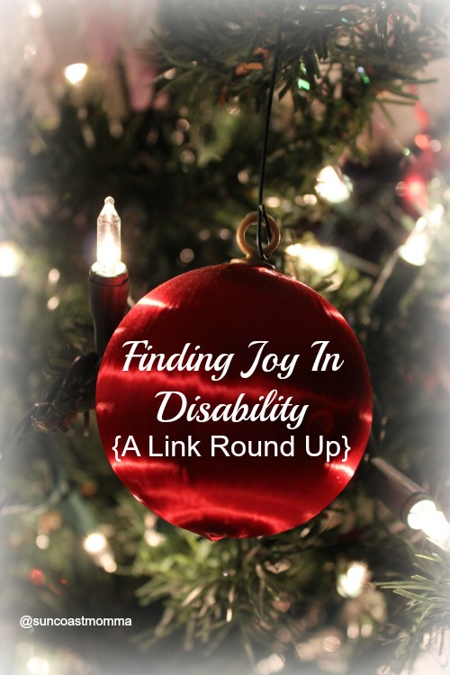 Finding Joy in disability