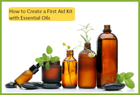 first aid kit essential oils