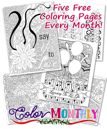 Crazy for Coloring Books