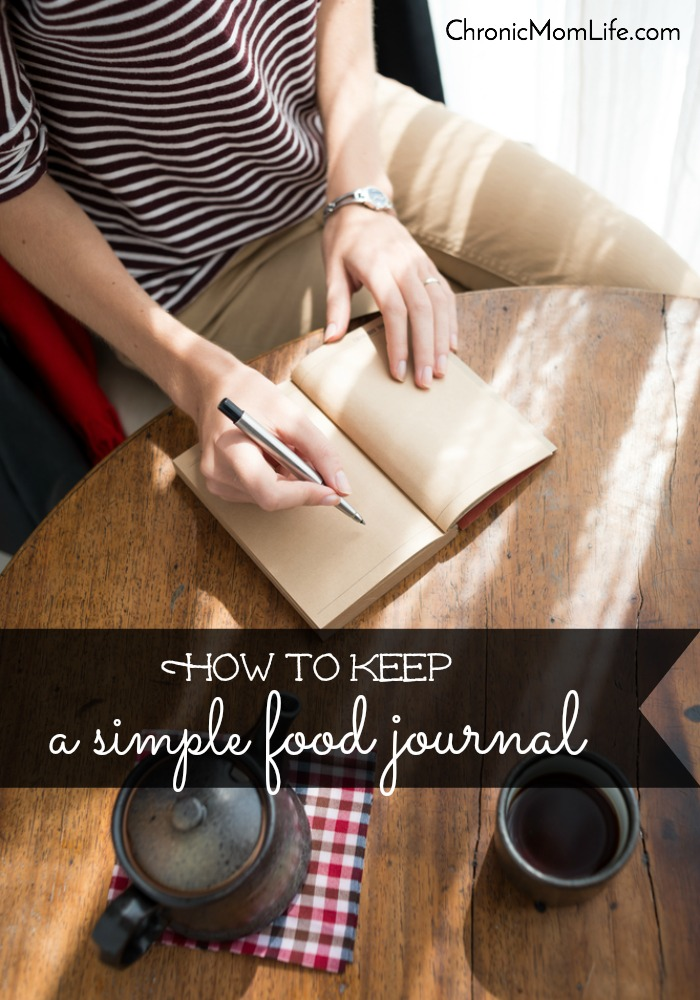 How to Keep a Simple Food Journal
