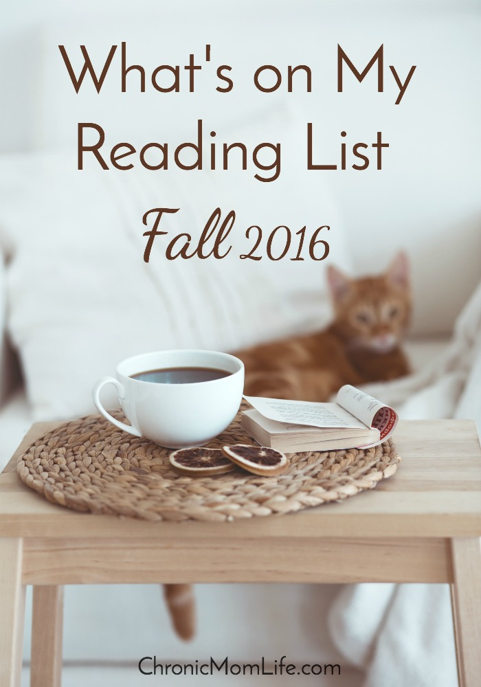 What's On My Reading List for Fall 2016