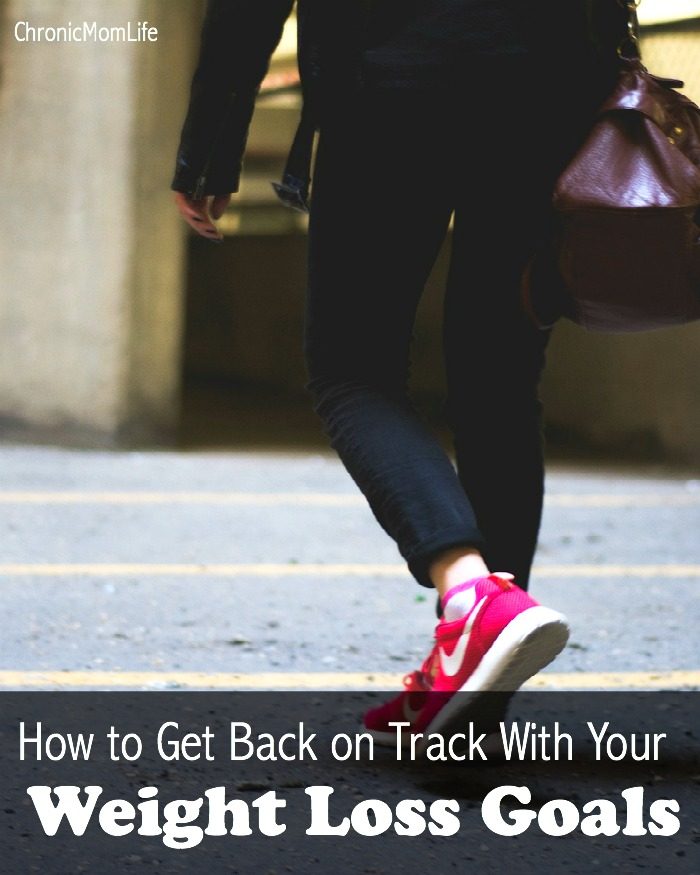 How to get back on track with your weight loss goals