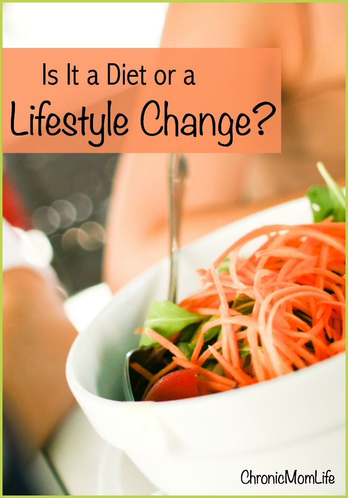 Is it a diet or lifestyle change?