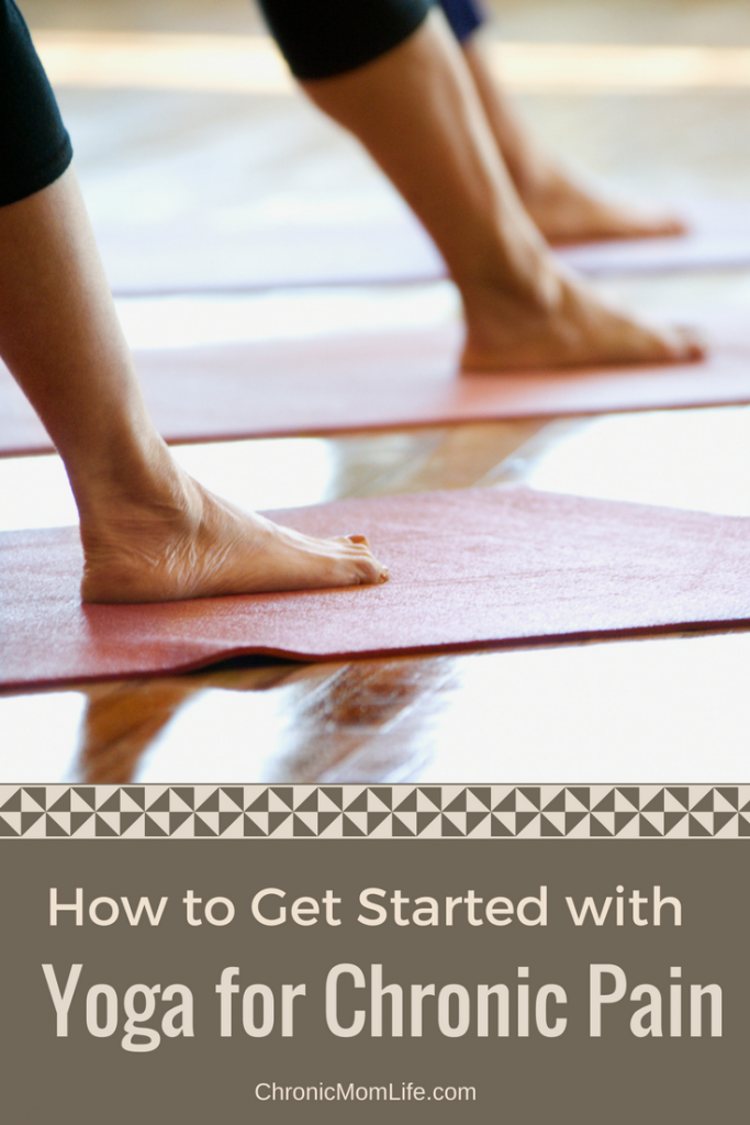 how to get started with yoga for chronic pain