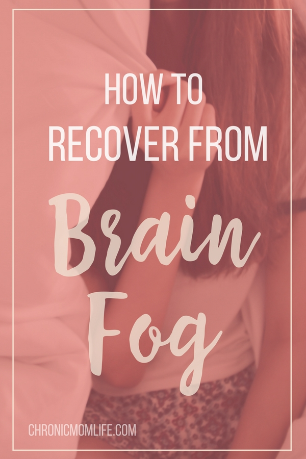 How to recover from brain fog