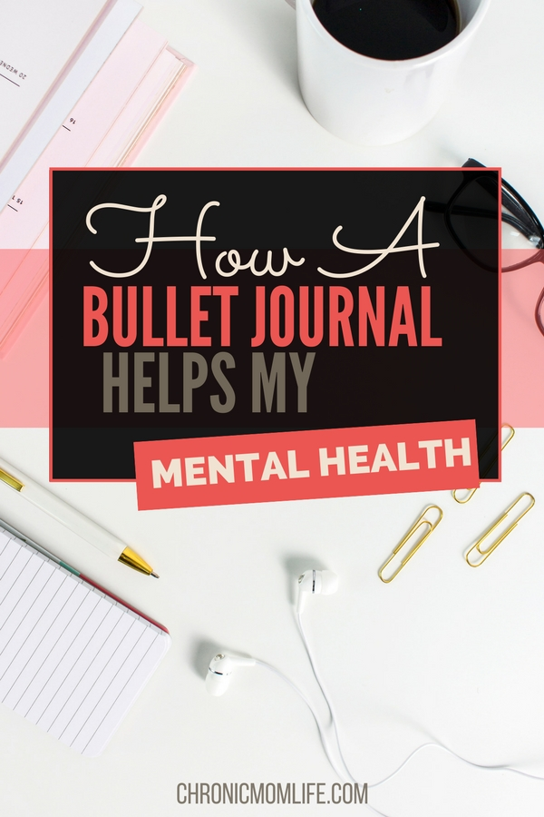 How a bullet journal helps my mental healt