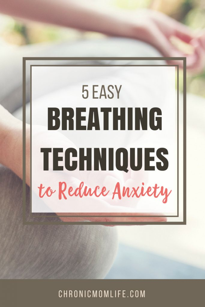 breathing techniques to reduce anxiety