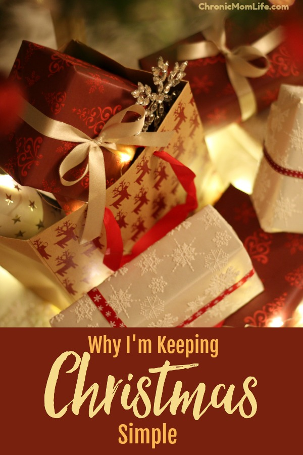 Why I'm Keeping Christmas Simple