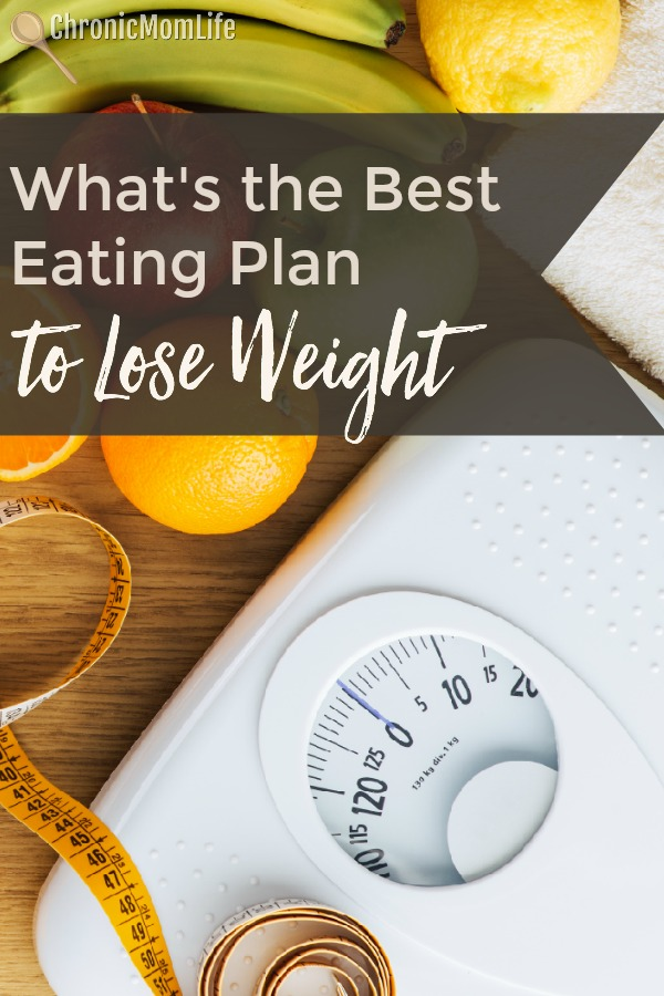 What's the best eating plan to lose weight?