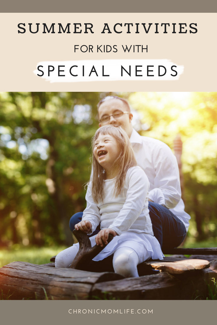 summer activities for kids with special needs