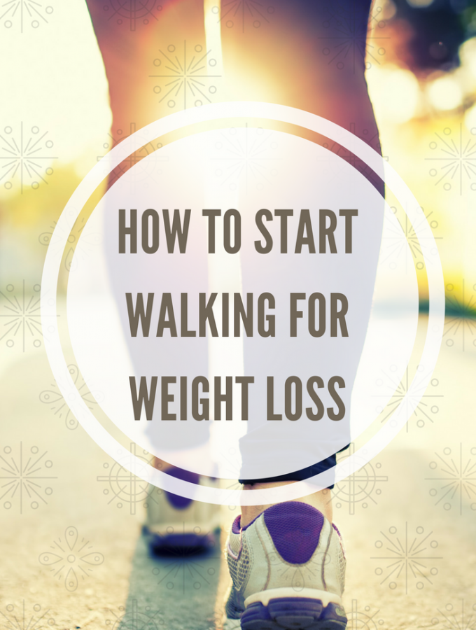 How to get started walking for weight loss