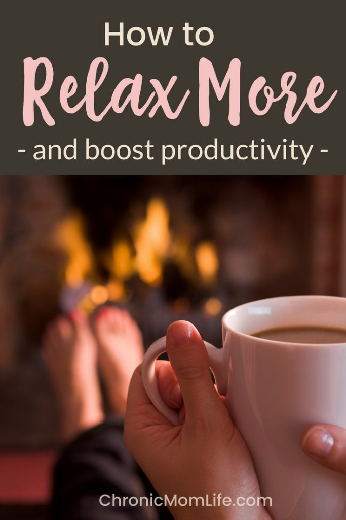 Relax more and boost productivity