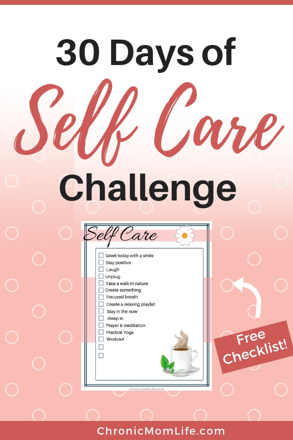 30 Days of Self Care Challenge #selfcare #selflove