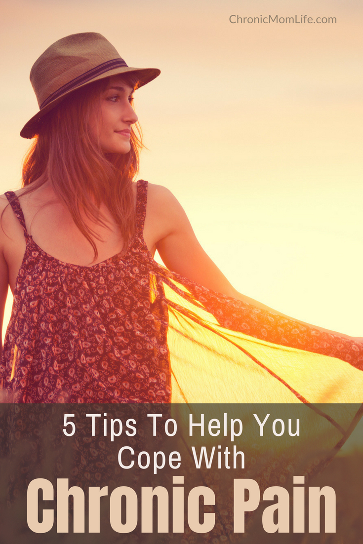5 tips to help you cope with chronic pain #chronicpain #chronicillness #mentalhealth #depression