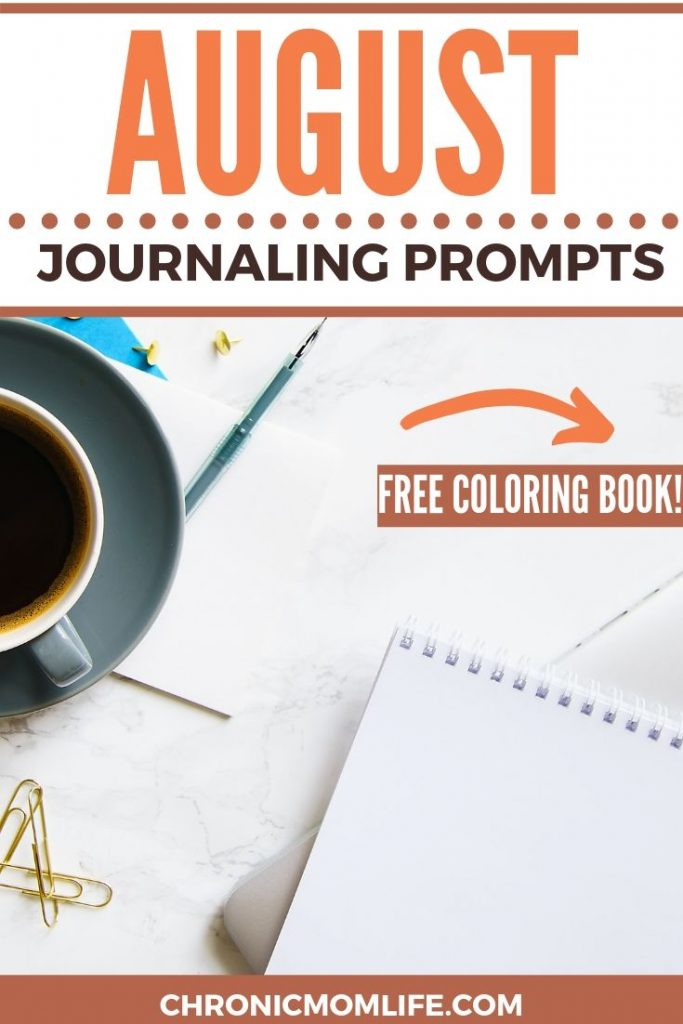 AUGUST JOURNALING PROMPTS
