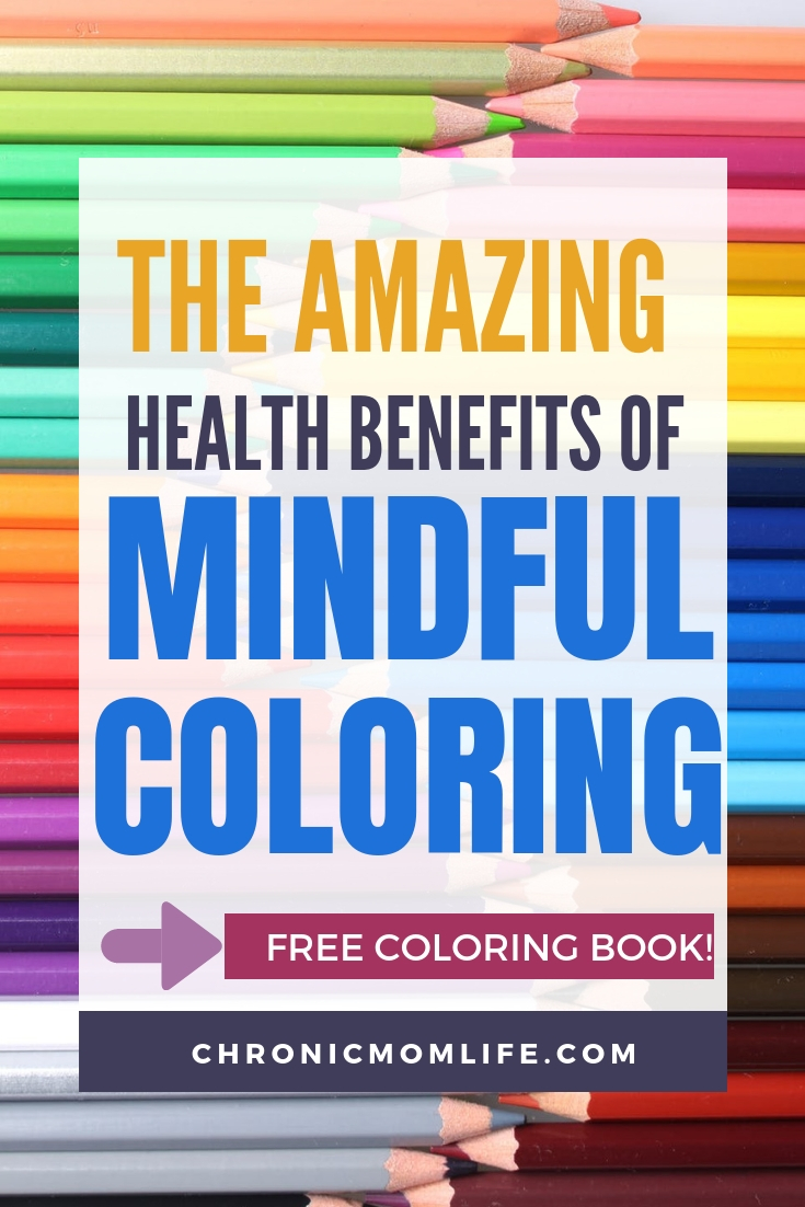 The amazing health benefits of mindful coloring. A great way to practice self care! #journal #mindfulness #selfcare