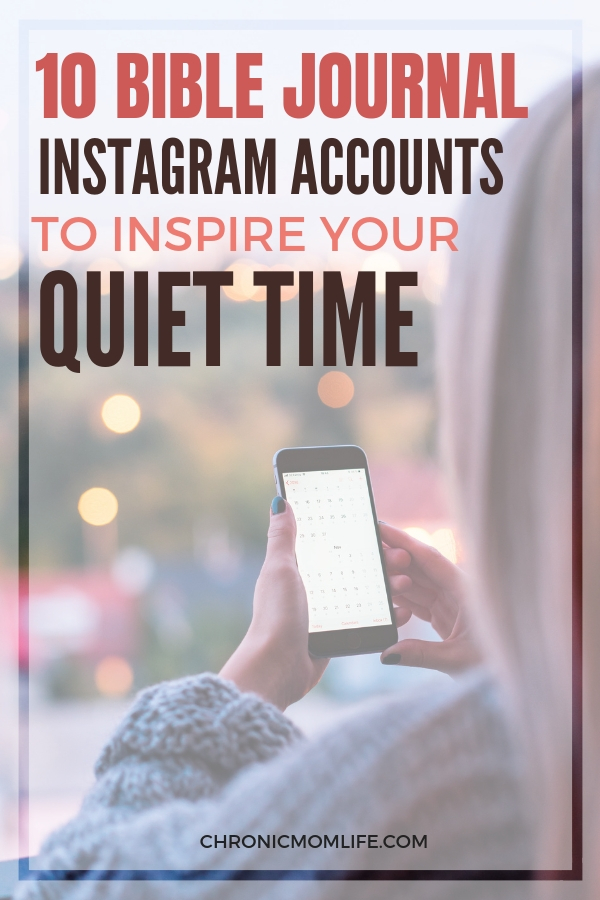 10 Bible Journal Accoutns to follow on Instagram for creative inspiration. #biblejournal #journal #biblestudy #quiettime