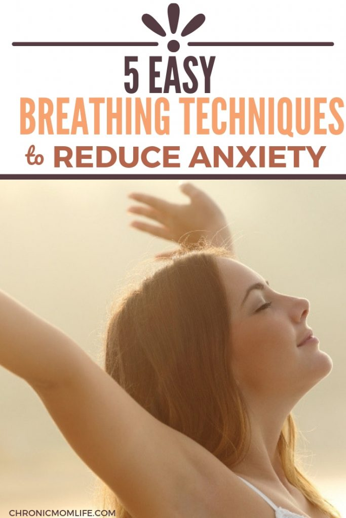 Looking for natural anxiety treatment? Learn some simple deep breathing exercises to reduce anxiety. #anxiety #mentalhealth #selfcare