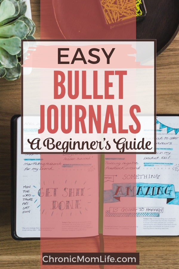 Beginner's guide to simple bullet journals #journal #bujo #bulletjournal