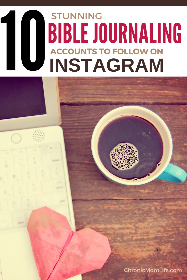 Bible journaling accounts to follow on instagram