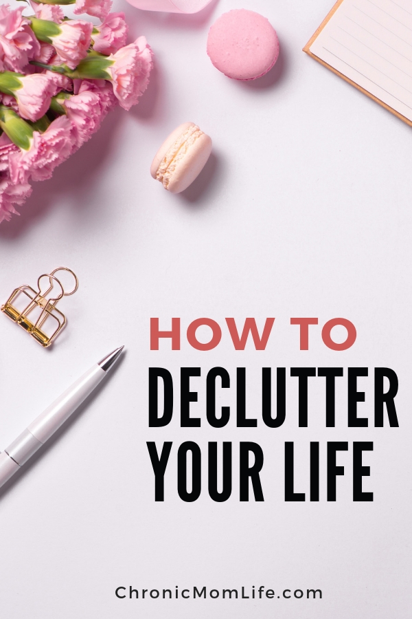 How to declutter your life and find peace in mindful living #declutter #organize #mindful