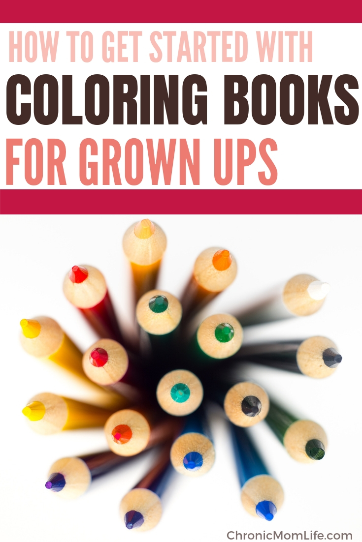 Get started with adult coloring books