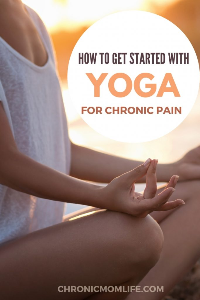 Yoga is a great way to manage chronic illness and chronic pain, as well as the mental health issues that often go with it. Learn how to start a simple yoga practice. #yoga #chronicillness #mentalhealth