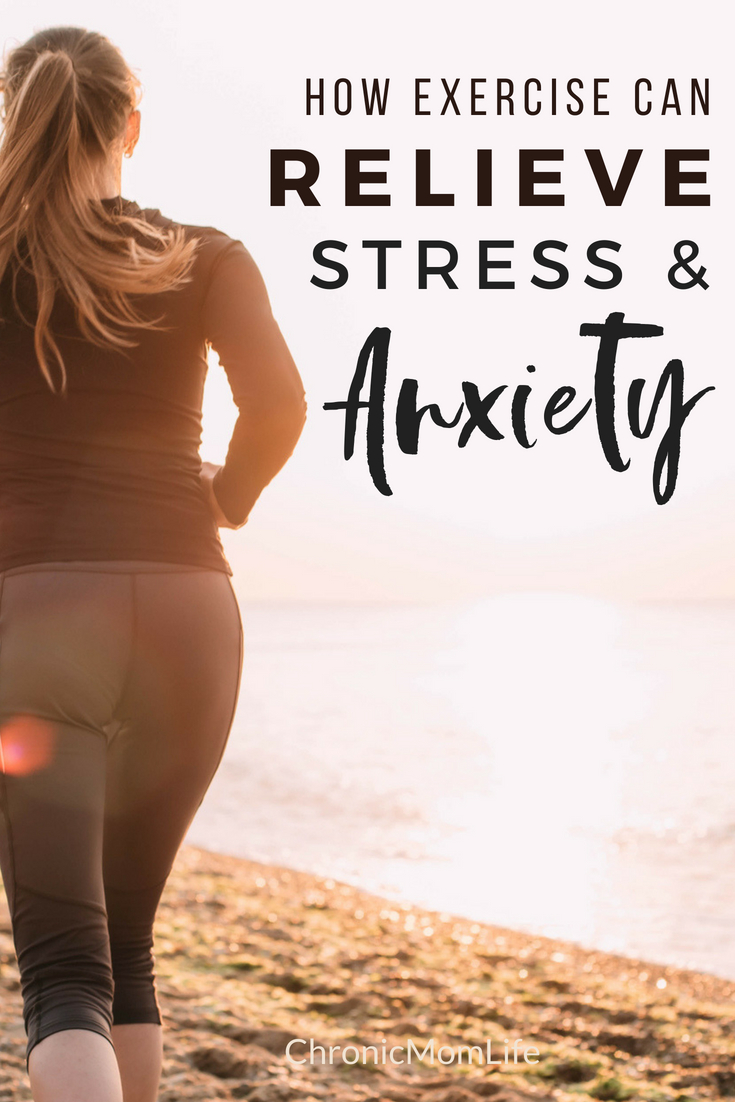 How Exercise can relieve stress and anxiety #mentalhealth #selfcare #stress #depression