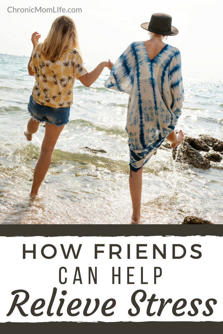 How friends can help relieve stress #mentalhealth #overfifty #over50 #depression #recovery