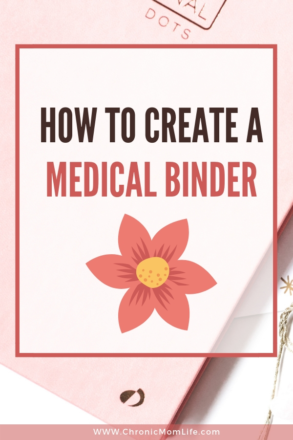 How to Create a Medical Binder