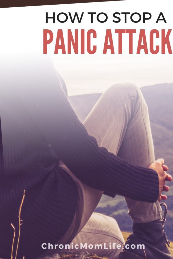 How to try to stop a panic attack when you're having one or when you feel one coming on. #mentalhealth #anxiety #depression