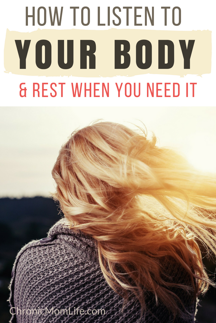 How to listen to your body and #rest when you need to. #mentalhealth #depression #selfcare #recovery #anxiety #specialneeds