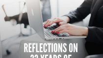 Reflections on 33 Years of Living Sober