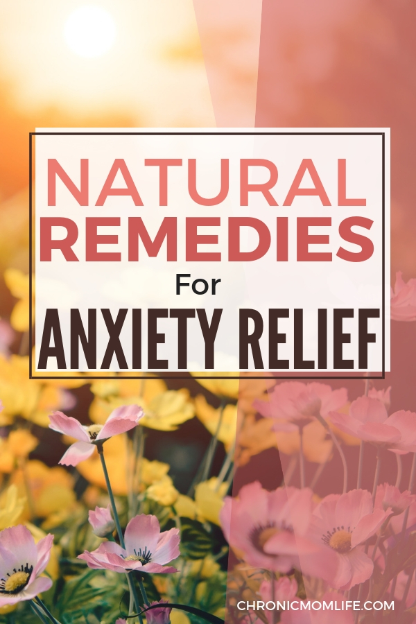 Helpful and natural remedies for anxiety relief. #anxiety #selfcare #depression