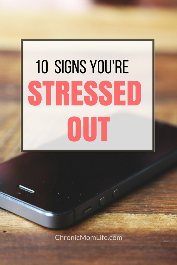 Signs you're stressed out-2