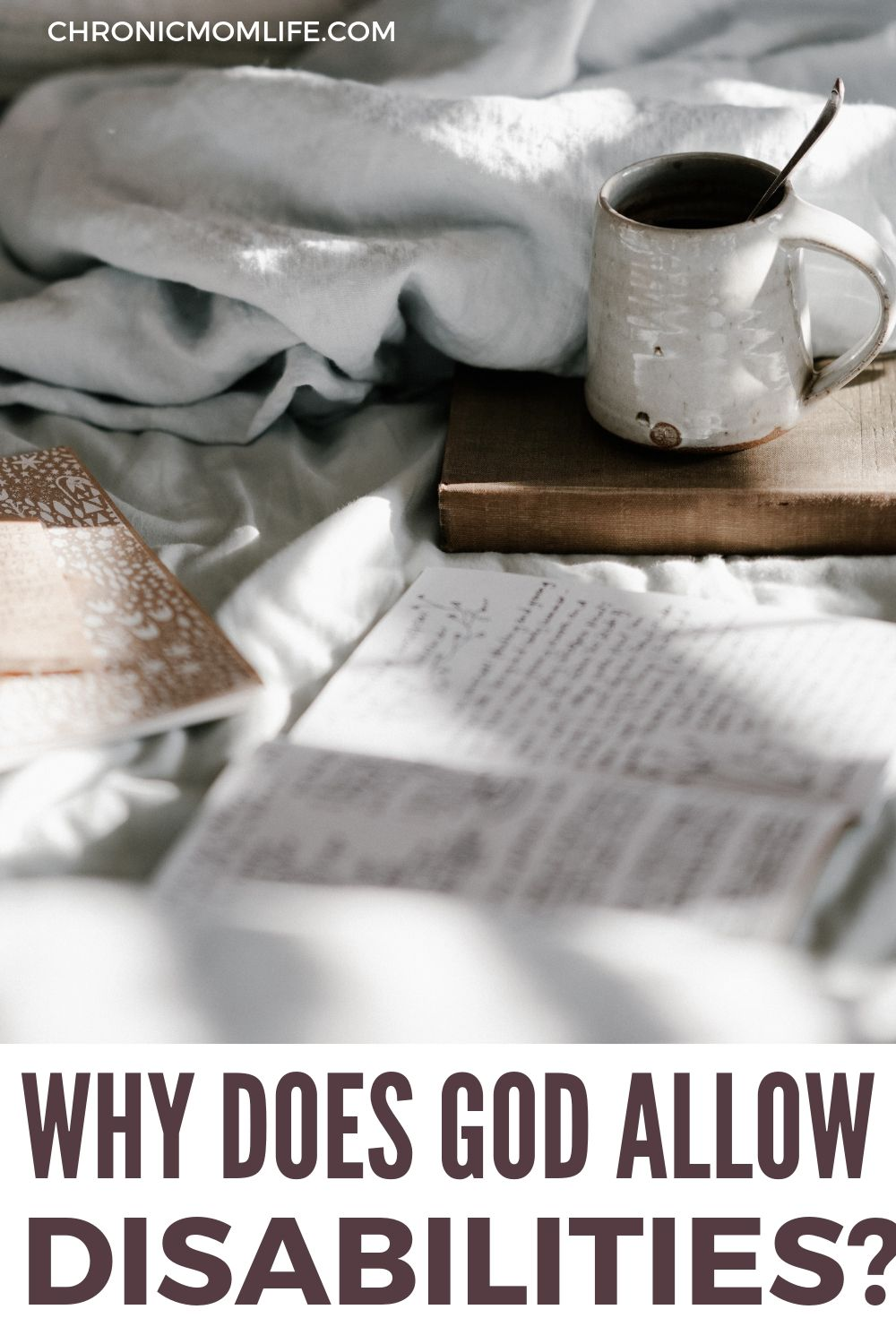 Why does God allow disability?