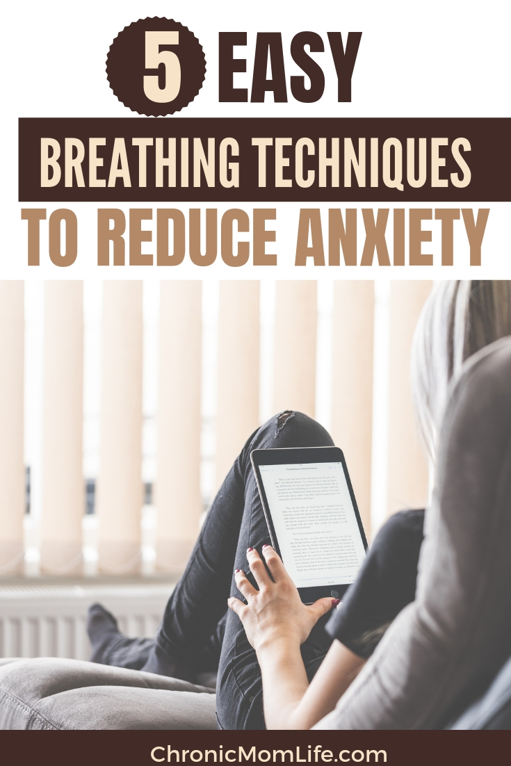 5 easy breathing techniques to reduce anxiety