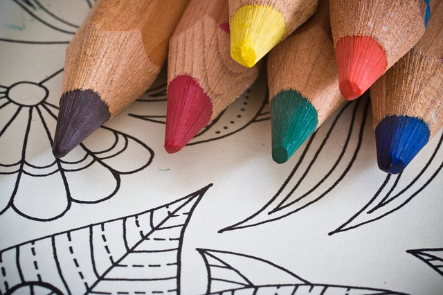 Mindful coloring books for adults