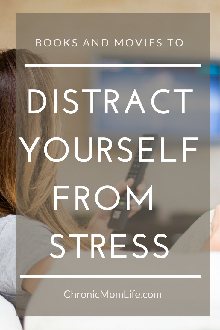 Here's a list of some simple things you can do to distract yourself from stress if you need to just chill.