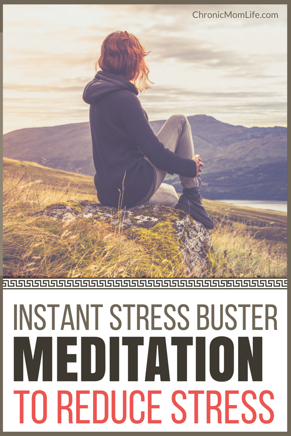 Instant stress buster meditation to reduce stress