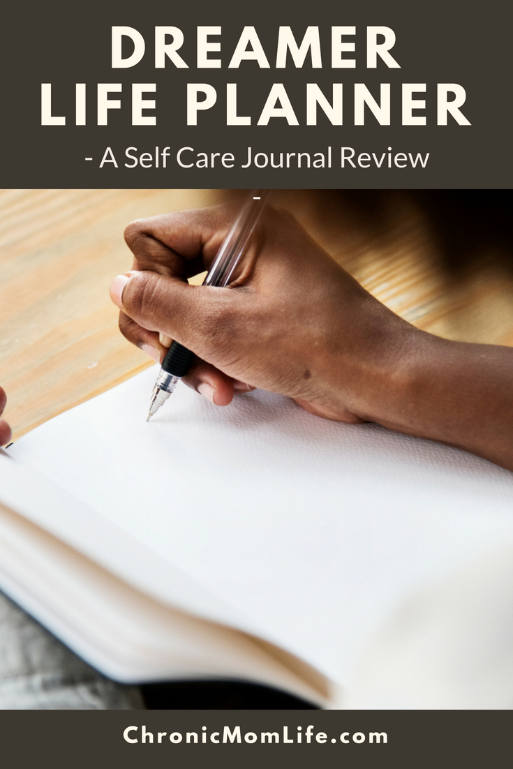 Review of Dreamer Life Planner, a self care journal