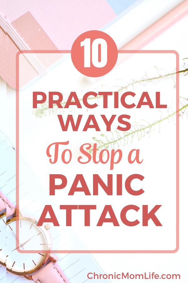 10 practical ways to stop a panic attack in its tracks #anxiety #selfcare